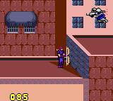 Captain America and the Avengers Game Gear Hawkeye on the rooftops