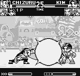 "King of Fighters R-1 Neo Geo Pocket Located at a ""safe"" distance, Kim was almost affected by Chizuru's DM Reigi no Ishidzue."