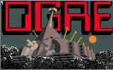 Ogre Amiga Title screen