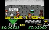 The Flintstones Amiga Use the squirrel to paint the walls