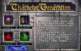 Eye of the Beholder II: The Legend of Darkmoon DOS Character generation