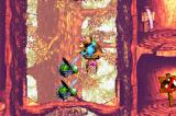 Donkey Kong Country 3: Dixie Kong's Double Trouble! Game Boy Advance Using a jumping spider as transport, the Kongs found a easy way to pass above a double of bees.