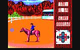 Buffalo Bill's Wild West Show Amstrad CPC Bronco riding