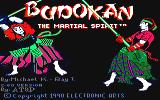Budokan: The Martial Spirit Amstrad CPC Title screen