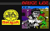 Bruce Lee Amstrad CPC Loading screen