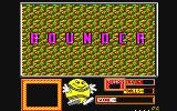 Bounder Amstrad CPC Title screen