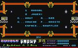 Bubble Ghost Amstrad CPC Play Select screen
