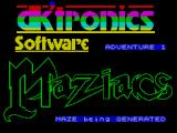 Maziacs ZX Spectrum Different every time