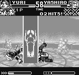 King of Fighters R-1 Neo Geo Pocket Yuri tries, but she didn't get to escape of Orochi Yashiro's DM Araburu Daichi: Orochi Power rules?