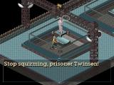 Relentless: Twinsen's Adventure DOS Stop squirming, prisoner Twinsen!