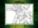 Quake 4: Special DVD Edition Windows Bonus Movie: Art Gallery - Gladiator sketch.
