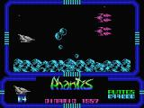 Game Over II MSX Astroids and alien space ships
