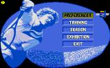 Advantage Tennis Amiga Tennis Match options