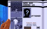 Advantage Tennis Amiga The player statistics