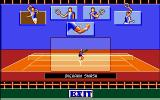 Advantage Tennis Amiga The player skills