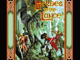 Heroes of the Lance MSX Title screen