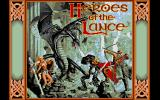 Heroes of the Lance Atari ST Title screen