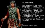 Heroes of the Lance Atari ST Riverwind - a ranger