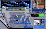 Hard Nova Atari ST Flying next to spaceport