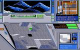 Hard Nova Atari ST Flying over the planet