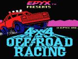 4x4 Off-Road Racing MSX Loading screen