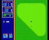 Hole in One Special MSX Player two can try to putt the ball