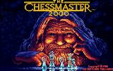 The Chessmaster 2000 Amiga Title screen