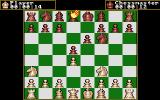 The Chessmaster 2000 Amiga Game in progress