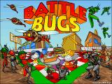 Battle Bugs DOS Battle Bugs Screenshot: Title (VGA)