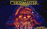 The Chessmaster 2000 Atari ST The title screen
