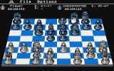 The Chessmaster 2000 Atari ST A chess game in progress