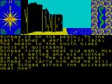 Sinbad & the Golden Ship ZX Spectrum Using a man to survive