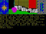 Sinbad & the Golden Ship ZX Spectrum Near to a castle
