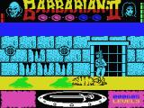 Axe of Rage MSX Some prisons