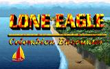 Lone Eagle: Colombian Encounter DOS Title screen