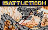 BattleTech: The Crescent Hawk's Inception Atari ST Title screen