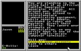 BattleTech: The Crescent Hawk's Inception Atari ST Most of locations is text-only
