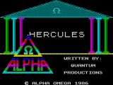 Hercules ZX Spectrum Loading screen