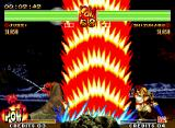 Samurai Shodown IV: Amakusa's Revenge Neo Geo Could be possible Shizumaru win the big wave of energy made by Jubei's super move Zetsu SuigetsuTou?