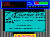 Galletron ZX Spectrum Title screen