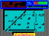Galletron ZX Spectrum Game start