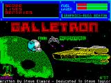 Galletron ZX Spectrum Loading screen