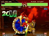 Samurai Shodown IV: Amakusa's Revenge Neo Geo With the successive spins of his umbrella, Shizumaru's HitoRyu SamidareGiri slashes a 20-hit combo!