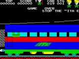 Stop the Express ZX Spectrum Game over