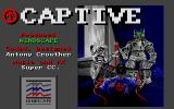 Captive Atari ST Title screen