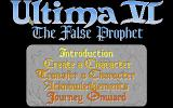Ultima VI: The False Prophet Atari ST Title screen
