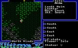 Ultima V: Warriors of Destiny Atari ST Equipment list - in top right corner