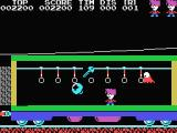 Stop the Express MSX Don't get hit by that bouncing object and grab the key to stop the train.