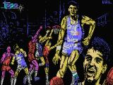 Drazen Petrovic Basket MSX Loading screen