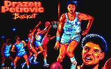 Drazen Petrovic Basket Amstrad CPC Loading screen